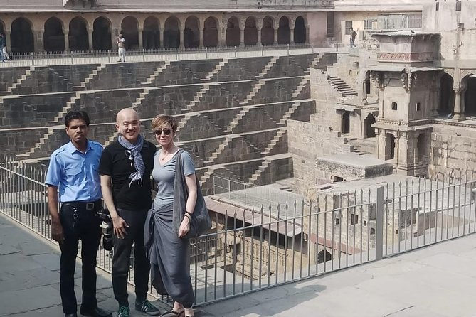 Jaipur Sightseeing Tour Including Chand Baori Stepwell