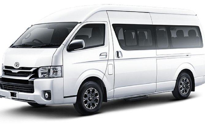 A'la Carte Minibus (4-5pax) Full Day With Guide