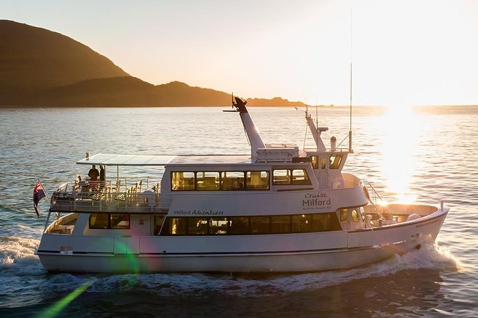 Premium Milford Sound Small Group Tour, Cruise & Picnic Lunch from Te Anau