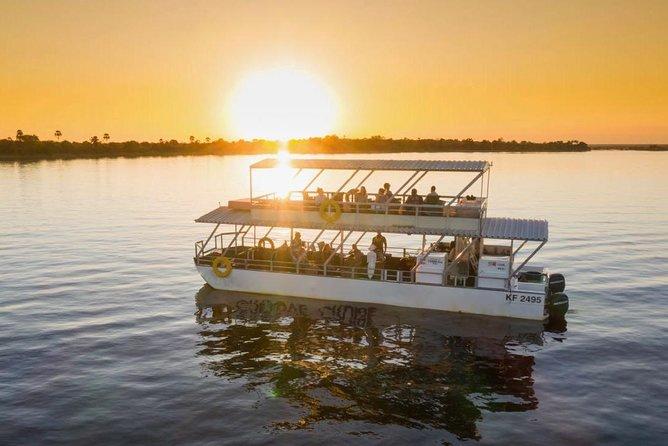 Sunset Cruise On The Zambezi River - Victoria Falls, Zimbabwe