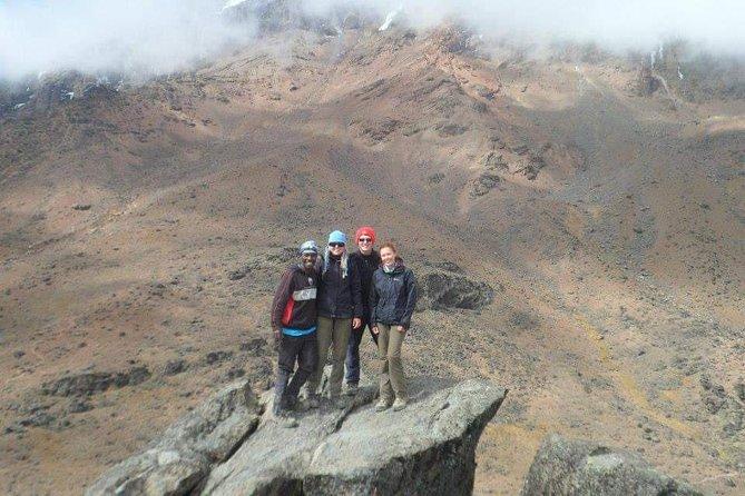 Tramping Mount Kilimanjaro Via Ubwe Route.