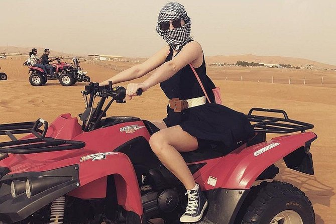 Shared Morning Desert Safari With Quad Bike in Dubai