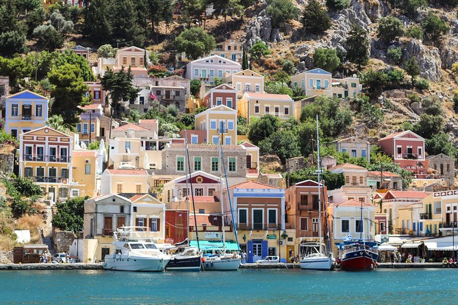 Symi Island from Rhodes with transfers from Ialyssos, Ixia, and Kallithea