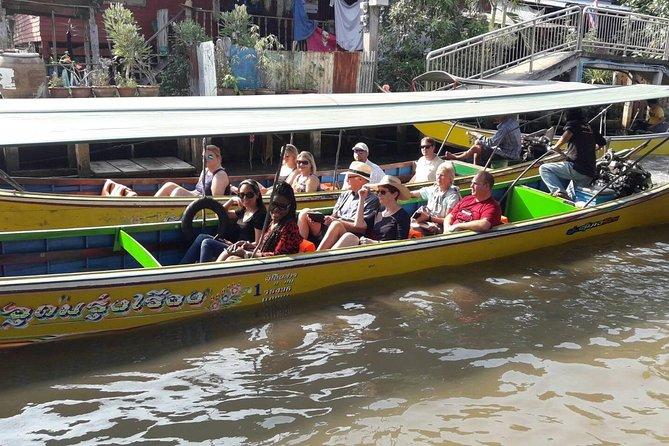 Damnoen Saduak Floating Market + Patom Organic Farm and Thai Cultural Workshop