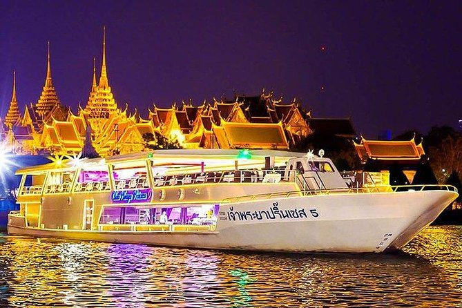 Dinner Cruise by Chaophraya Princes with Private transfer
