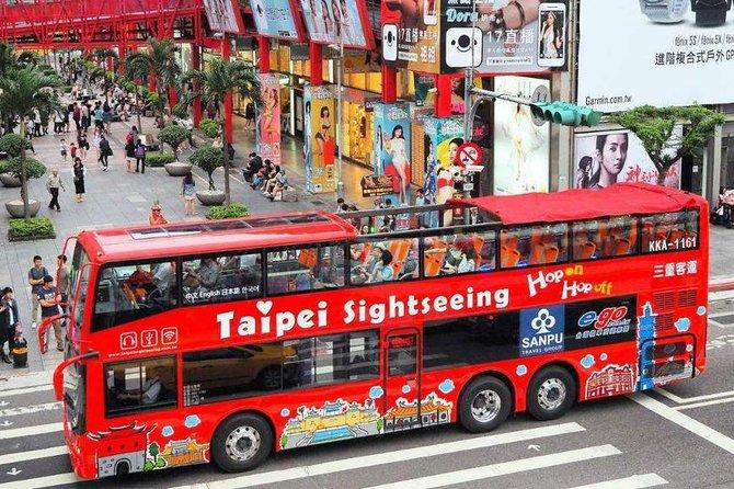 Taipei Hop-On Hop-Off Sightseeing Bus Ticket