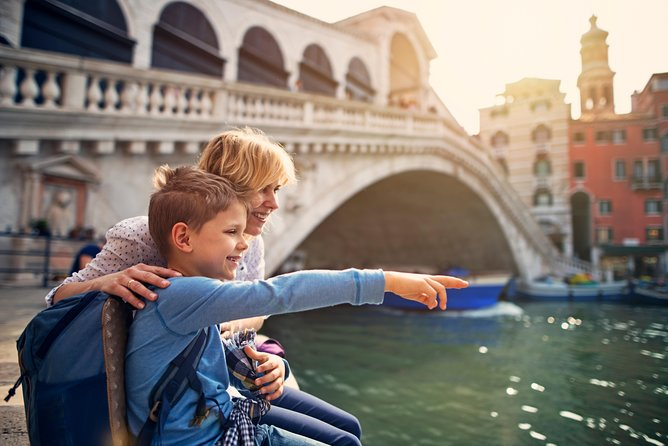 Venice Sightseeing Walking Tour for Kids and Families w/ Local Guide