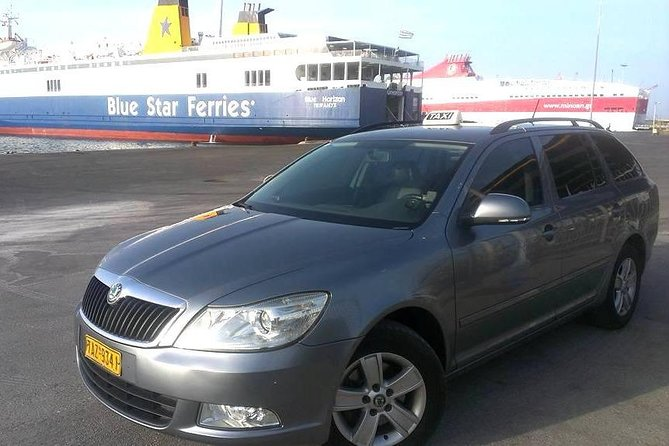 Taxi Transfers services from Heraklion airport to Rethymno