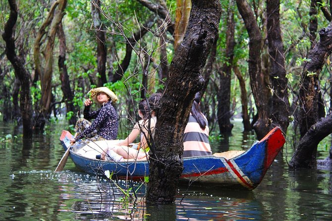 Tonle Sap Lake and Kampong Phluk Private Half Day tour from Siem Reap photo 4
