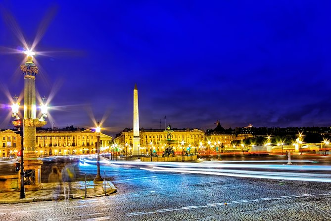 Private Guided Paris by Night with Pick up Hotel