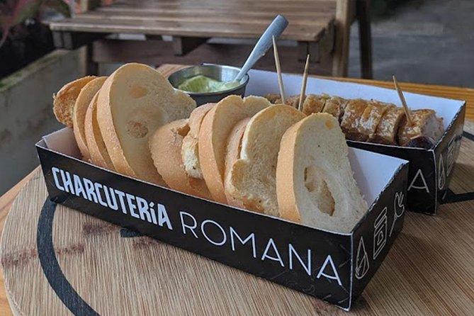 Sausage tapas and empanadas