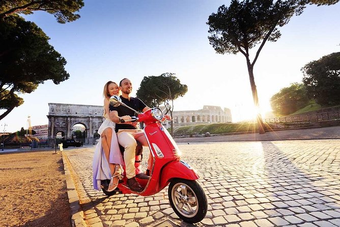 4-Hour Rome's Highlights by Vespa Scooter Private Tour