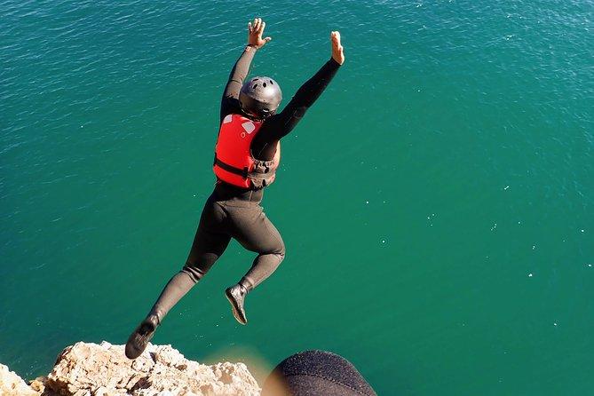 Coasteering and Cliff Jumping Near Lagos