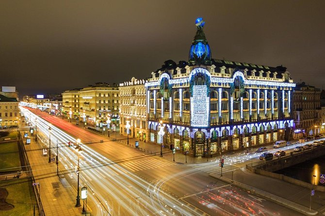 St. Petersburg Full Day Private Shopping Free-Visa Tour