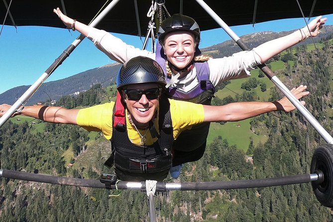 hang gliding tandem flight Mt Stanserhorn - Lucerne