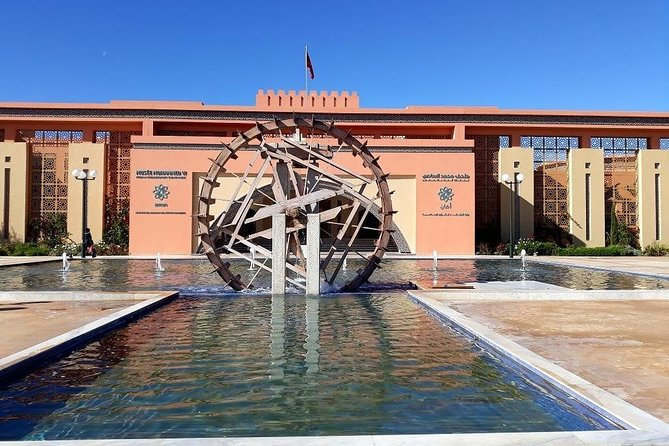 Visit of the museum of the civilization of the water in Marrakech