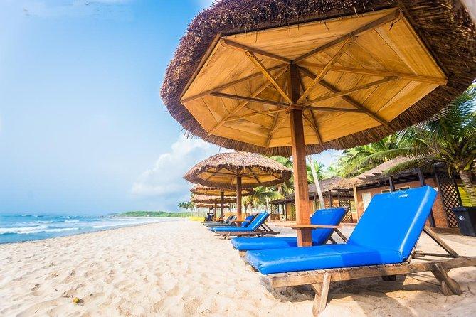 Leisure trip on the coast of Ghana