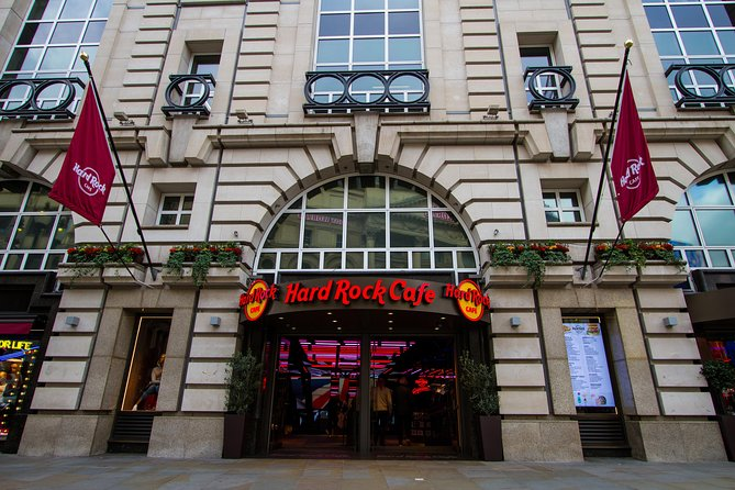 Skip the Line: Hard Rock Cafe Piccadilly Circus Including Meal