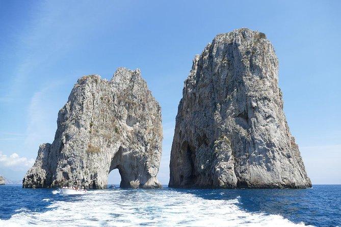 Capri, Blue Grotto & Positano Private Shore Excursion from Naples with Top Guide