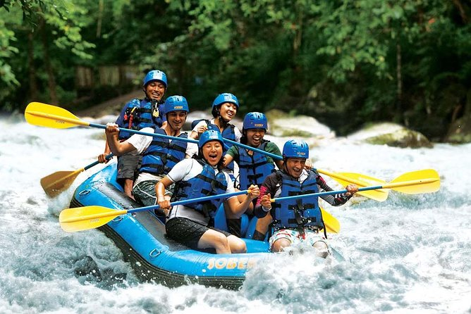 Amazing Full Day Rafting and ATV Ride Trip in Ayung River Ubud with Lunch