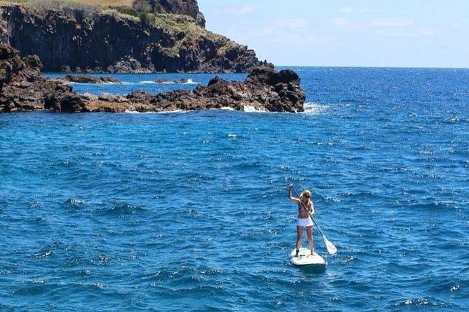 Stand up paddle on Madeira Island