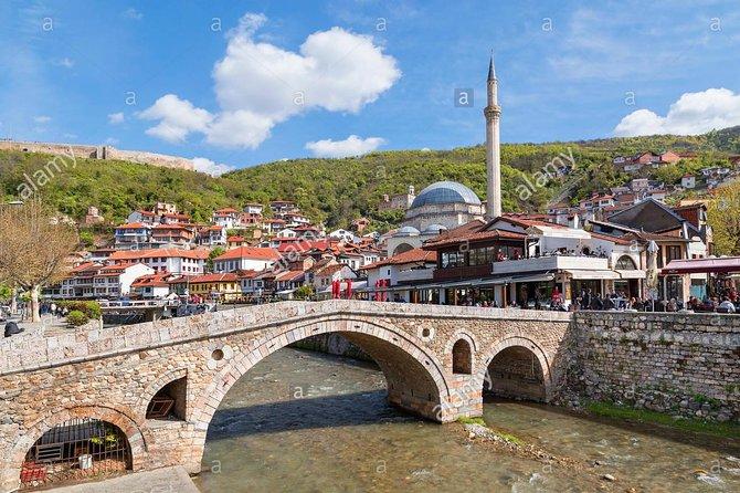 Private transport to Prizren, Kosovo from Tirana