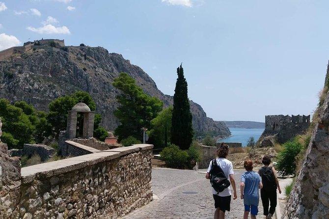 Corinth Canal and Byzantine Monastery, Epidaurus Theater, Nafplion in Argolis