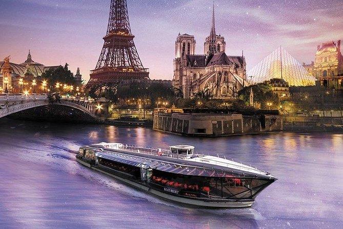 Bateaux Mouches Cruise Seine Promenade Tickets
