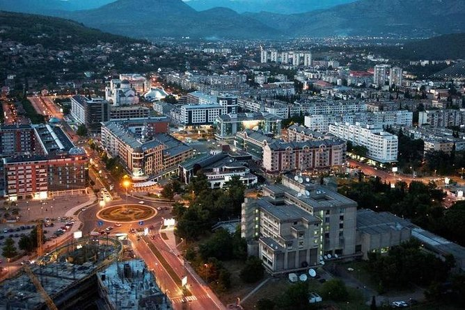 Private transport from Tirana to Podgorica, Montenegro