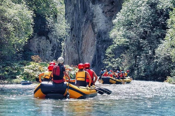 Private experience of Rafting Nera or Corno rivers in Umbria