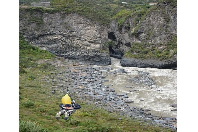 Adventure Circuit 4 activities in 1. All within an impressive cascade