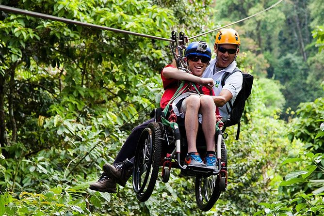 Wheelchair Zip Lining
