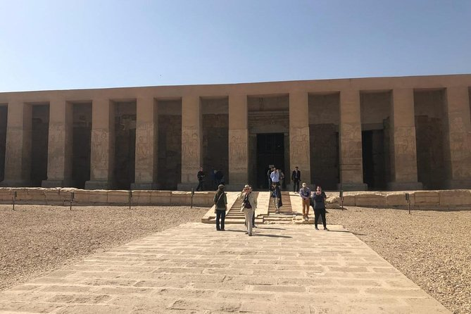 Dendra and Abydos guided private trip from Luxor