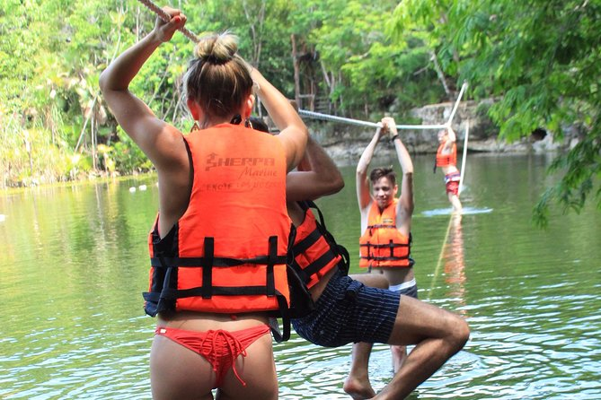 ATV tour, zip lines and cenote the best Eco Park Cancun adventure photo 8