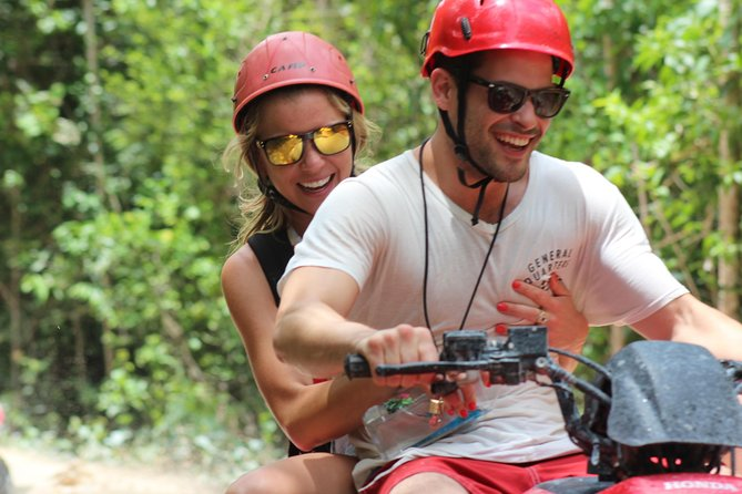 ATV tour, zip lines and cenote the best Eco Park Cancun adventure photo 13