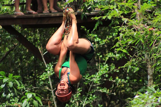 ATV tour, zip lines and cenote the best Eco Park Cancun adventure photo 10