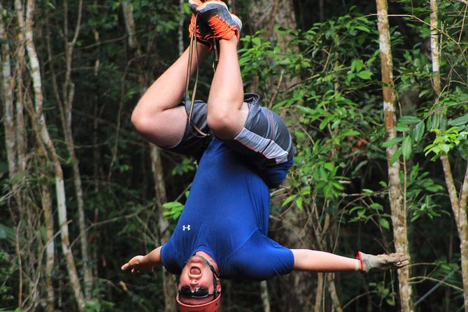 ATV tour, zip lines and cenote the best Eco Park Cancun adventure photo 7