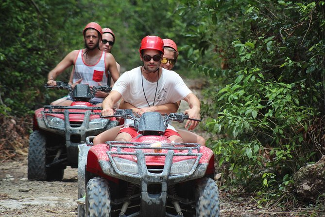 ATV tour, zip lines and cenote the best Eco Park Cancun adventure photo 6