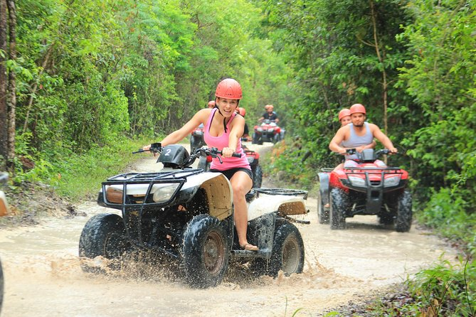 ATV tour, zip lines and cenote the best Eco Park Cancun adventure photo 11