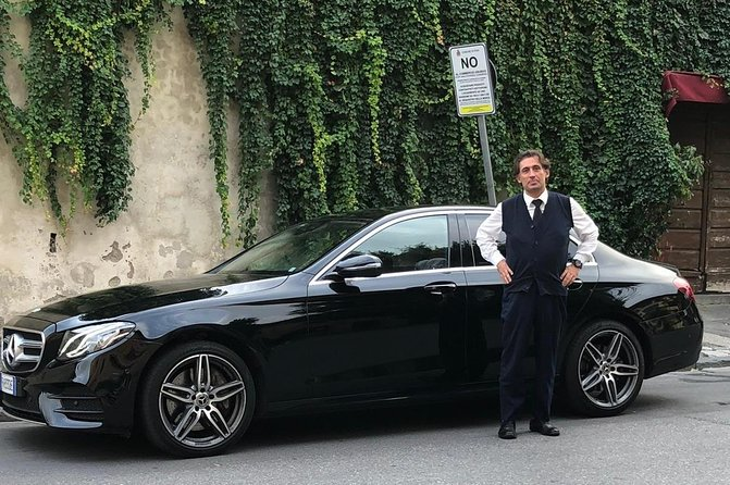 Pisa, San Gimignano and Siena Private Tour in a Mercedes E