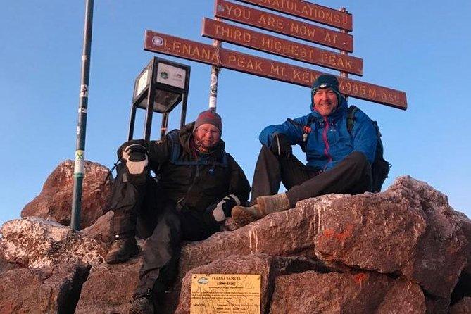 Mt. Kenya 6 Days Sirimon Down Chogoria