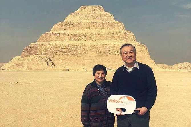 Private Day Tour at Giza Pyramids, Saqqara & Memphis