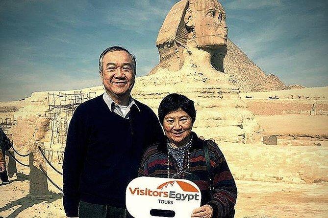 Day Trip at Giza Pyramids & Sphinx