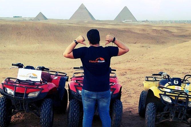 Amazing Quad Bike Tour around the Pyramids