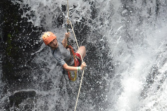 Waterfall, Treetop Rappelling and Adventure Park Tour and Safari - 7 Activities!