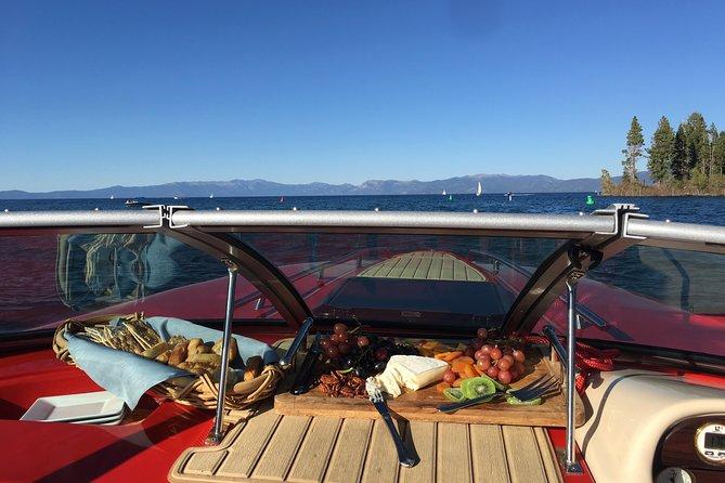 Sunset Wine & Cheese Emerald Bay Boat Charter