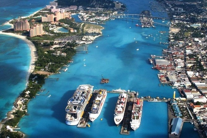 RoundTrip from Cruise-ship Port to Atlantis, Atlantis Beach, Casino, Warwick,Riu