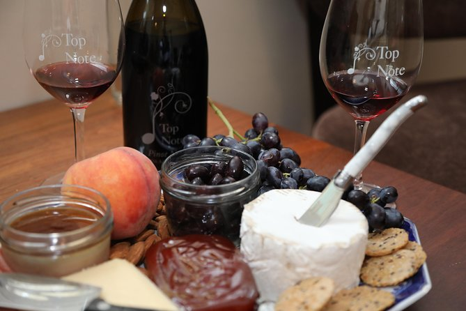 Structured Wine Tasting and Platter