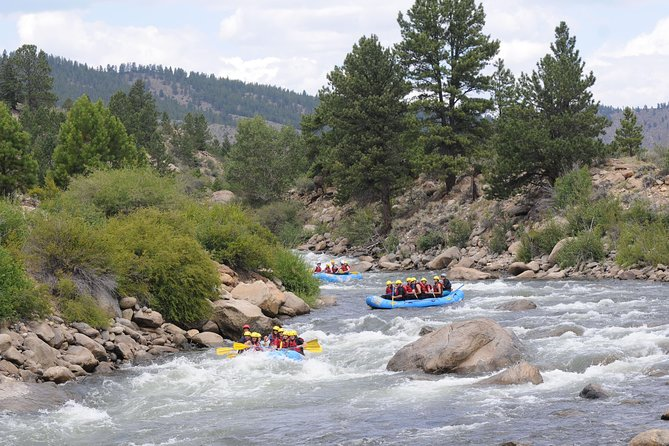 Numbers Half Day Whitewater Rafting Class IV