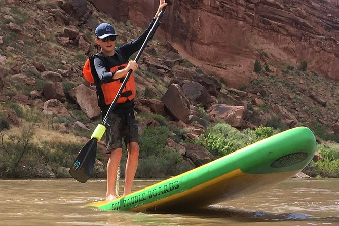 Flatwater Fun: Moab Stand Up Paddleboarding